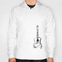 guitar Hoodies featuring guitar by brittanyhelms