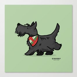The Scottish Terrier Canvas Print