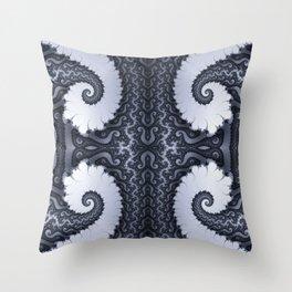 Fractal Art - Glacier I Throw Pillow