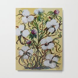 King Cotton Metal Print