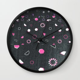 The first day of school after winter holiday Wall Clock