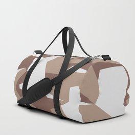 Camouflage Splinter Pattern Desert Duffle Bag