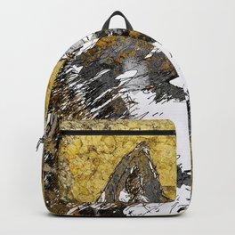 Gray Wolf Art Backpack