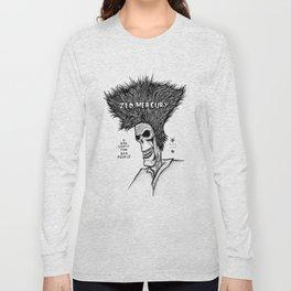 Zed Mercury Cramps tribute Long Sleeve T-shirt