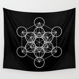 Metatron's Cube II Wall Tapestry