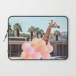 Giraffe Palm Springs Laptop Sleeve