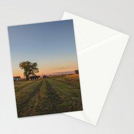 Curious Farmstead, North Dakota 2 Stationery Cards