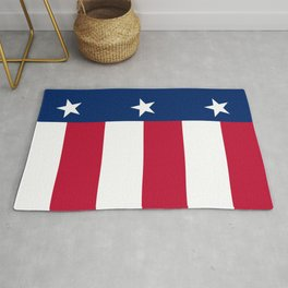 State flag of Texas, official banner orientation Rug