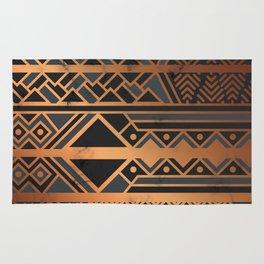 Black & Gold 028 Rug
