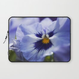Blue Pansy Laptop Sleeve