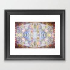 .glow. Framed Art Print