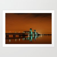 Marine Parkway Bridge 2 Art Print