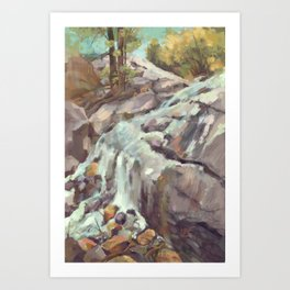 Chippy Trail Lookout Art Print