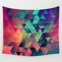 booty Wall Tapestries featuring nyyt tryp by Spires