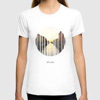 milan T-shirts featuring MILAN by Daniel Rey