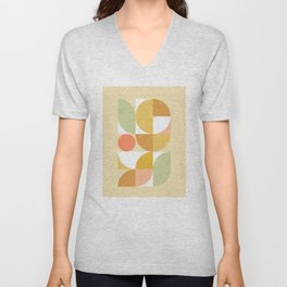 The colours of Summer #geometric #pattern Unisex V-Neck