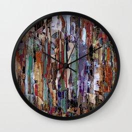 Under the rain Wall Clock