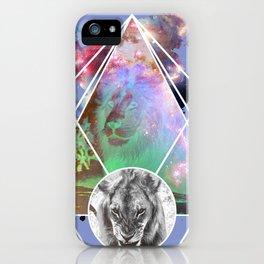 Art Lion iPhone Case