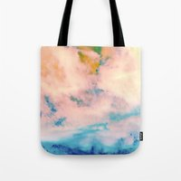 outer space Tote Bags featuring OUTER SPACE by Uta Krauss