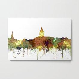 Annapolis, Maryland Skyline - SG - Safari Buff Metal Print