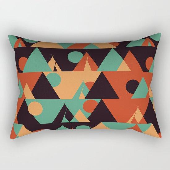 The sun phase Rectangular Pillow