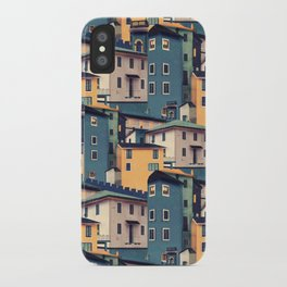 Night Castles (Pattern) iPhone Case