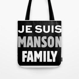 Je Suis - Manson Family Tote Bag