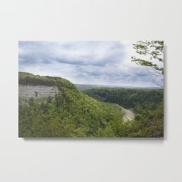 Canyon Springs New - Letchworth Metal Print
