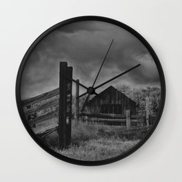 Nostalgic Ranch Wall Clock