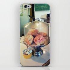 donut? ~ vintage cake plate iPhone & iPod Skin