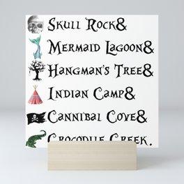 Neverland Places Mini Art Print