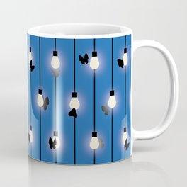 Moths on Fairy Lights Coffee Mug