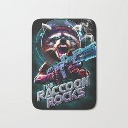 THE RACCON ROCKS Bath Mat