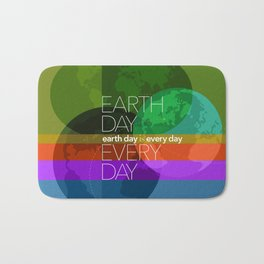 Earth Day Every Day_Robin Pickens Bath Mat