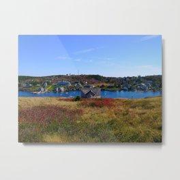 Monhegan Island Metal Print