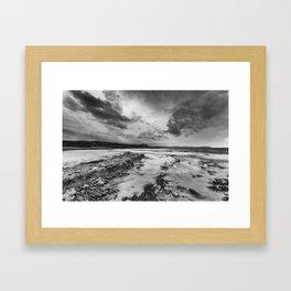 Kilve Beach Framed Art Print