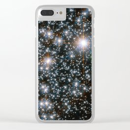 Star Cluster NGC 6496 Clear iPhone Case