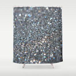 Silver Dust Shower Curtain