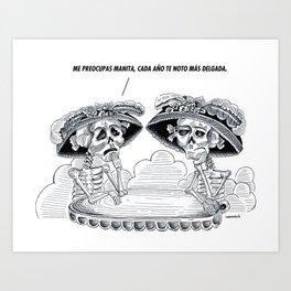 catrinas Art Print