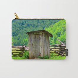 Country outhouse Carry-All Pouch
