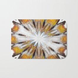 Sunburst Abstract Bath Mat