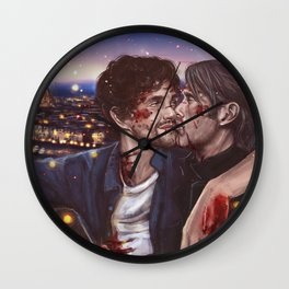 Love you in Florence Wall Clock