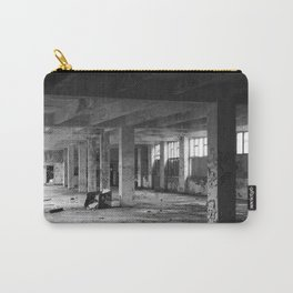 abandoned urban interior spaces Carry-All Pouch