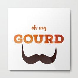 Oh my Gourd Metal Print