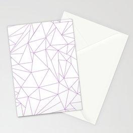 geometric circle Stationery Cards