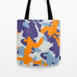 high visibility camouflage Tote Bag