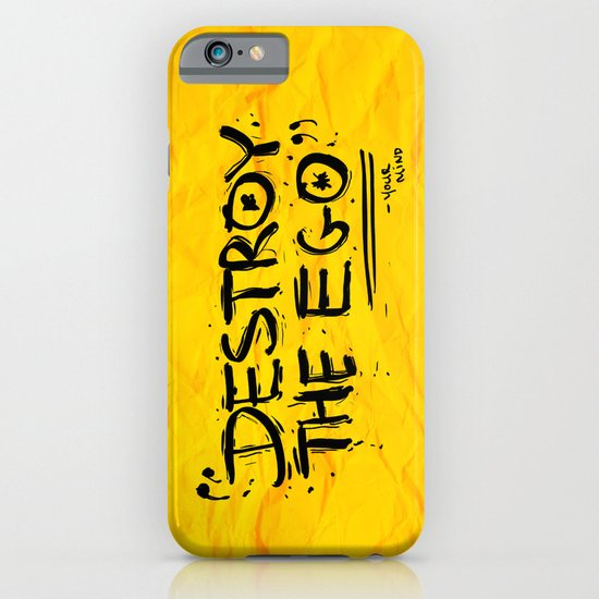 Destroy the Ego iPhone & iPod Case