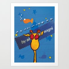 sogni - dreams Art Print