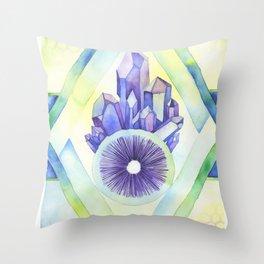 Spore Dance Throw Pillow