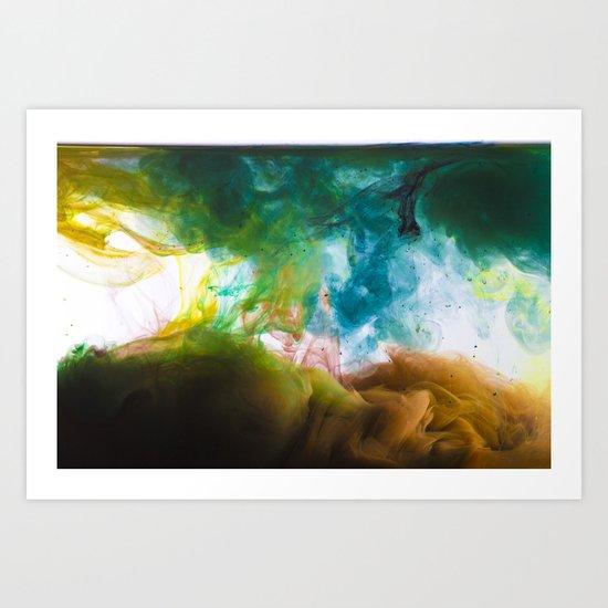 Colors Alive Art Print
